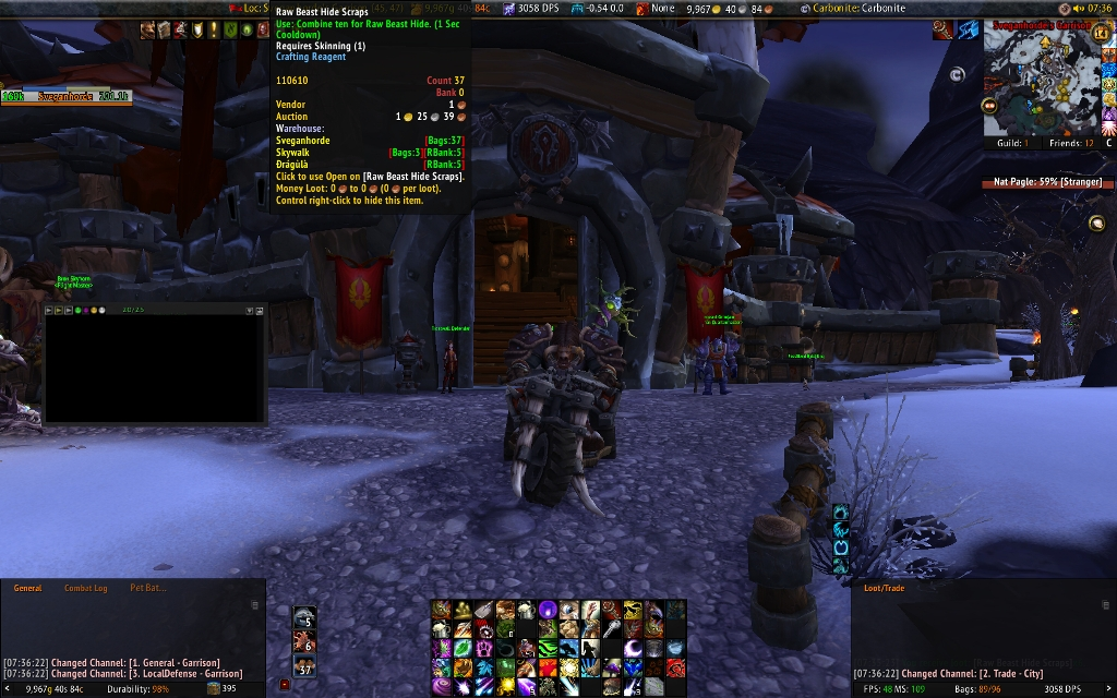 Overview - ProspectBar Lives - Addons - Projects - WoW
