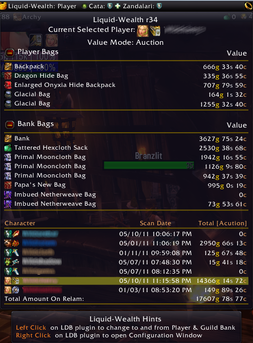 r54 - Files - Liquid-Wealth - Addons - Projects - WoW CurseForge
