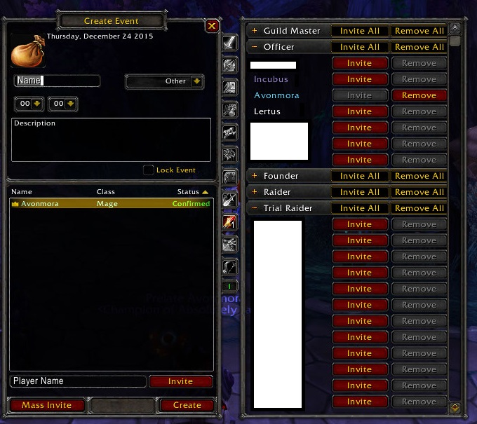 Overview Easy Raid Calendar Addons Projects Wow Curseforge