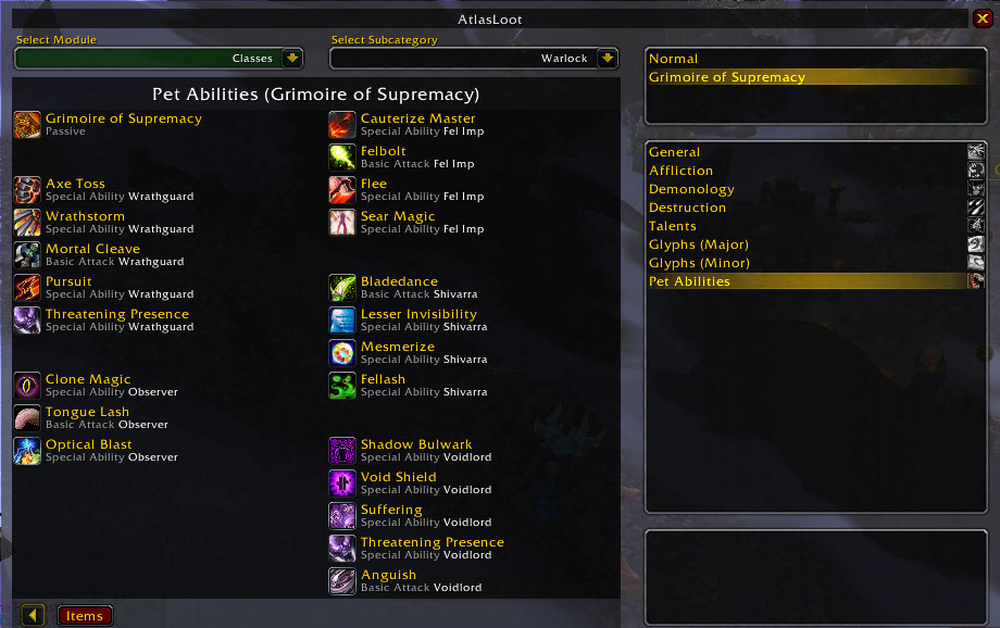addon wow atlasloot