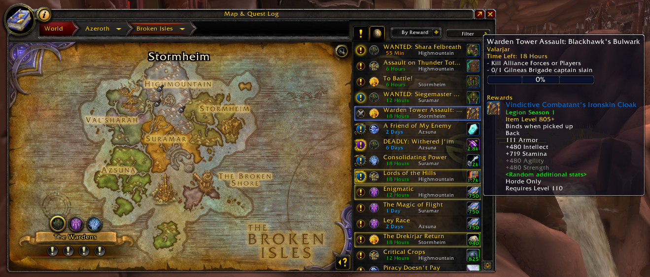Overview world quest tab addons projects wow curseforge world quest tab sciox Images