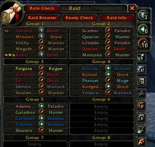 Overview - RoleIcons - Addons - Projects - WowAce