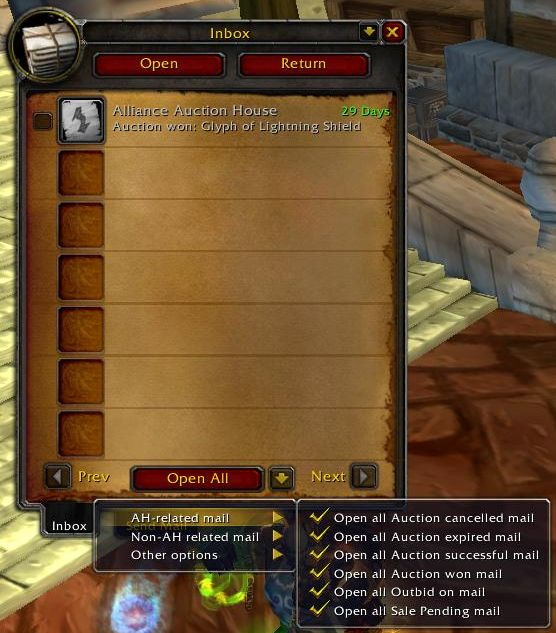 Overview - Postal - Addons - Projects - WowAce
