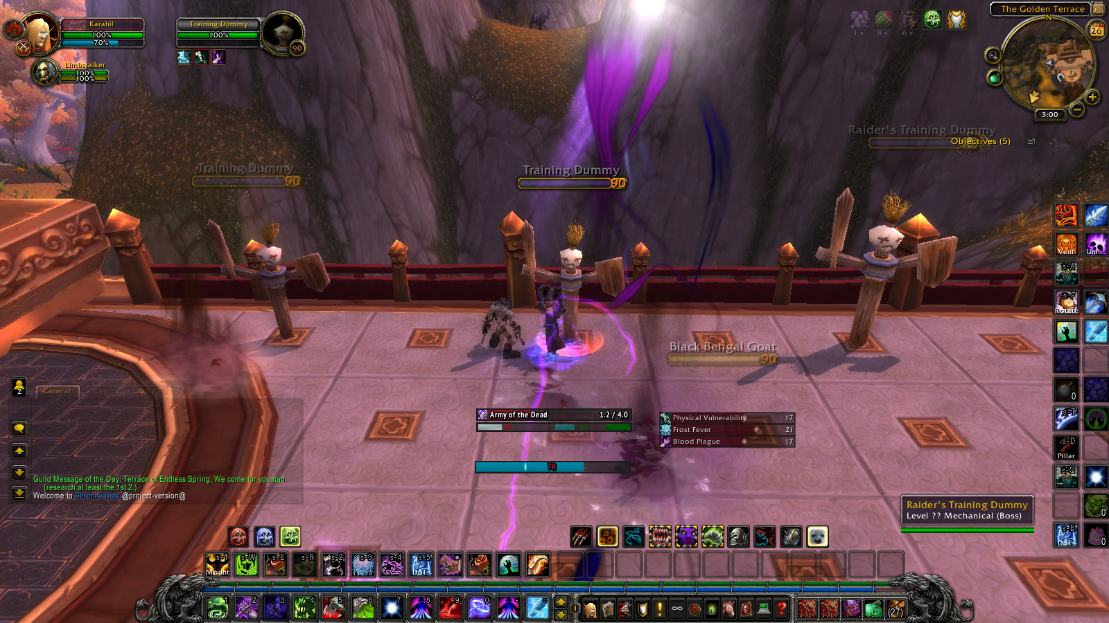 classes of warcraft mod