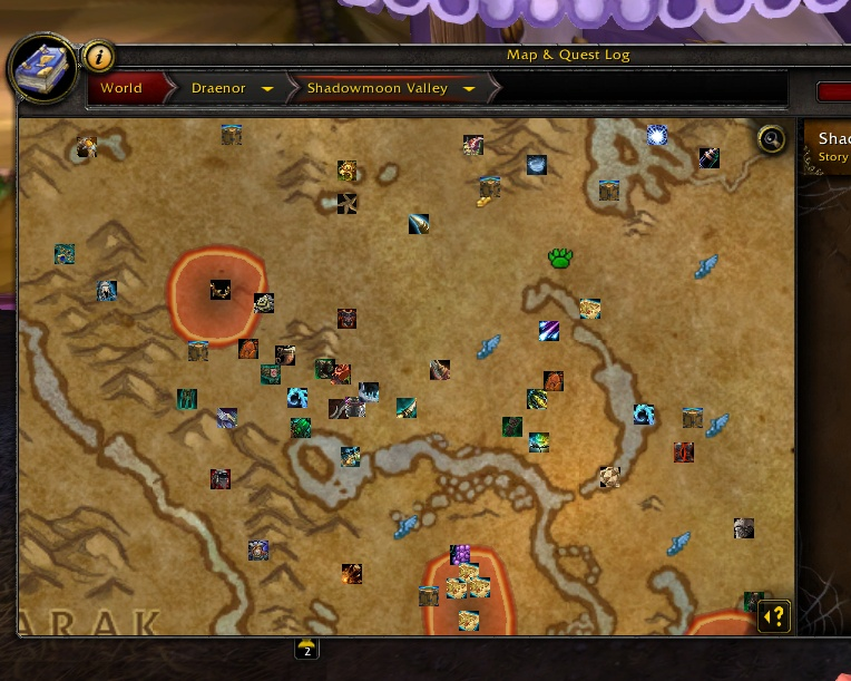 Overview - HandyNotes: Treasure Hunter (Draenor Treasures) - Addons ...