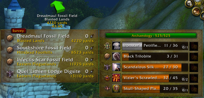 Overview - Archy - Addons - Projects - WowAce