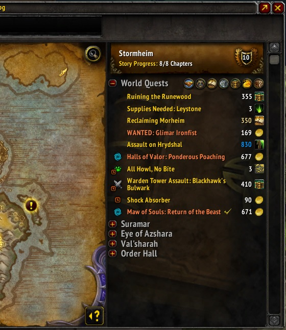 Overview - Angry World Quests - Addons - Projects - WowAce