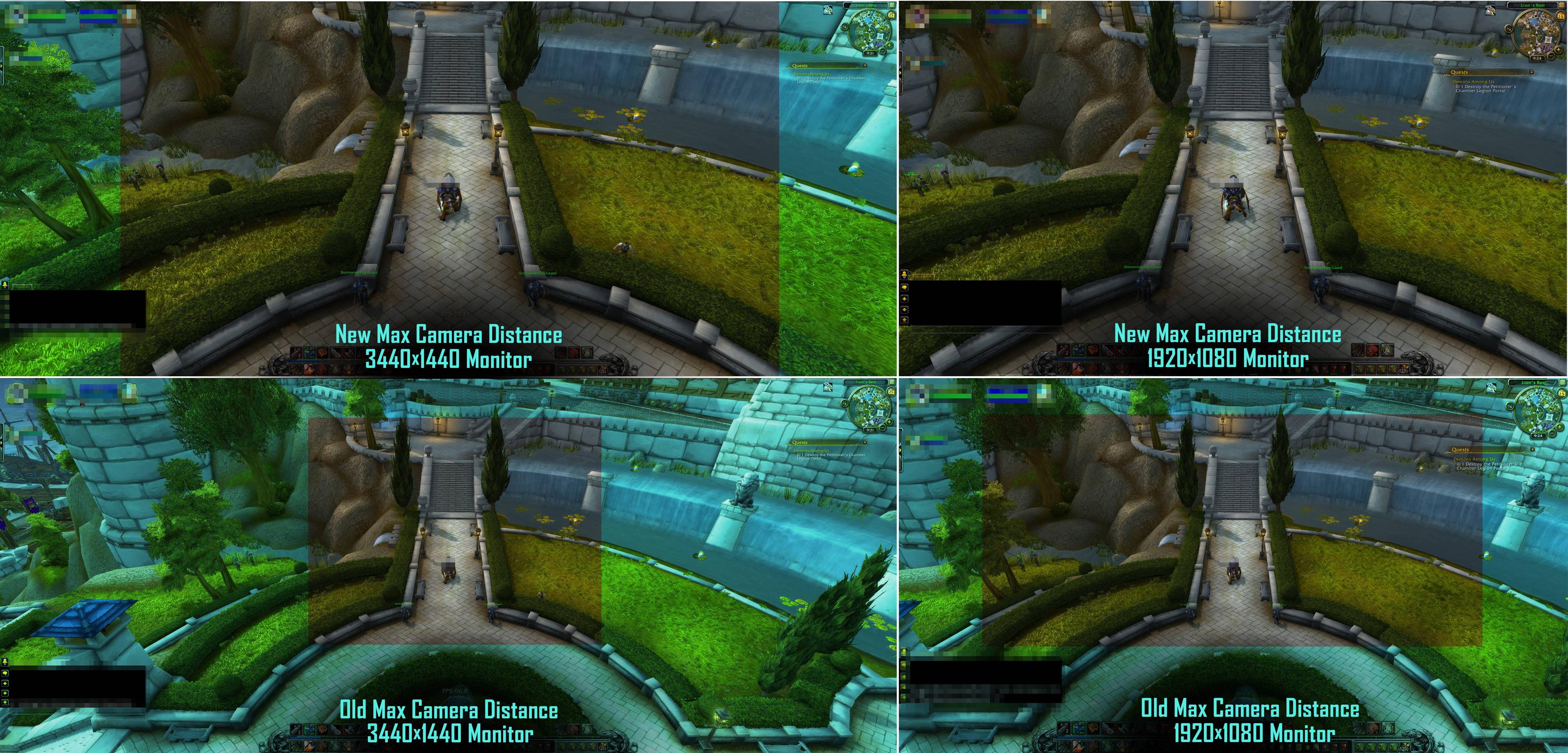 Overview - MaxCam - Addons - Projects - WowAce
