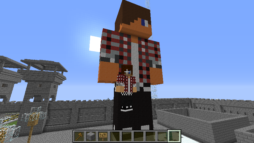 Overview Skin Statue Builder Bukkit Plugins Projects Bukkit - Skins erstellen minecraft pe