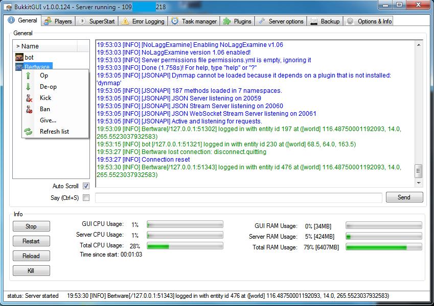 Overview - The bukkit GUI project (BukkitGUI) - Bukkit