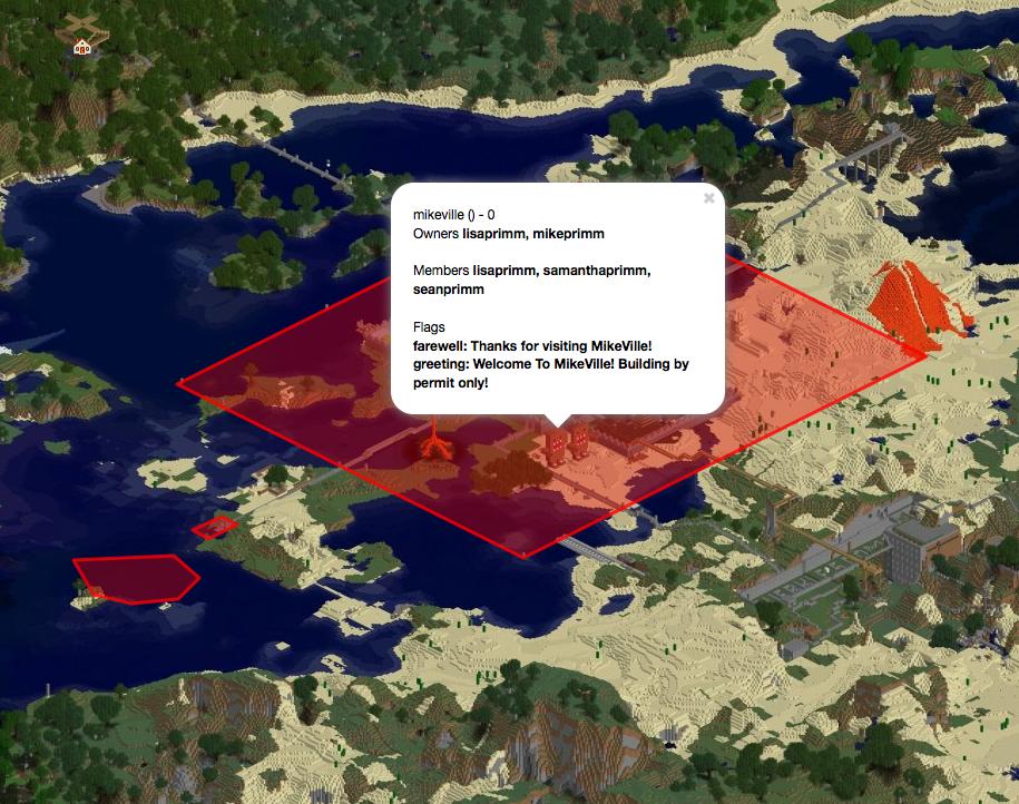 Overview - Dynmap-WorldGuard - Bukkit Plugins - Projects - Bukkit