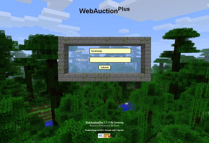 Overview Webauctionplus Bukkit Plugins Projects Bukkit