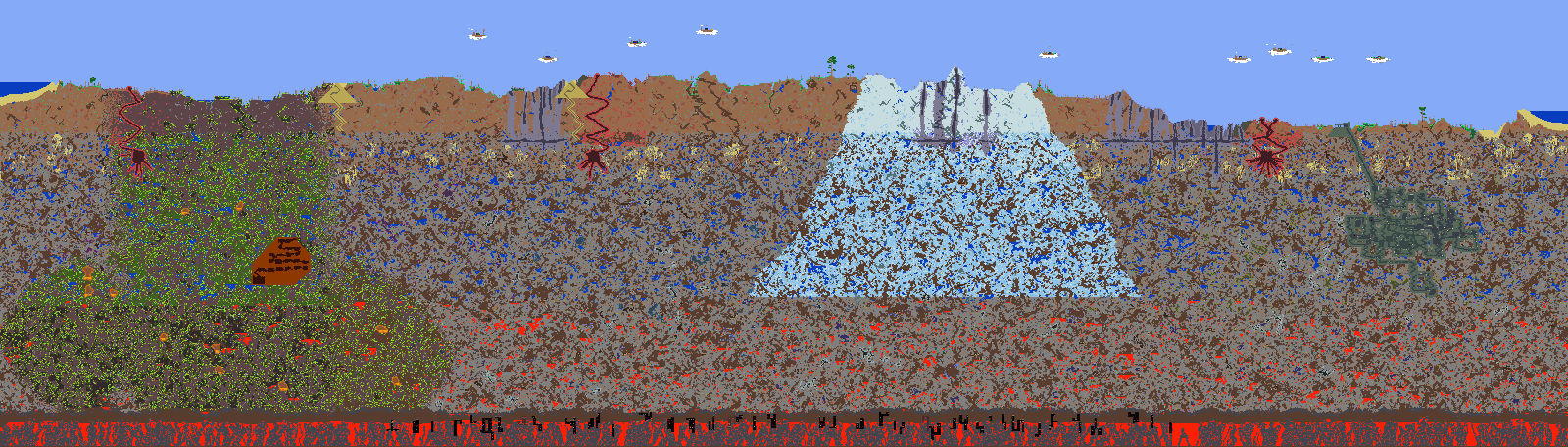 Overview both crimson and corruption maps projects terraria terraria curseforge gumiabroncs Image collections