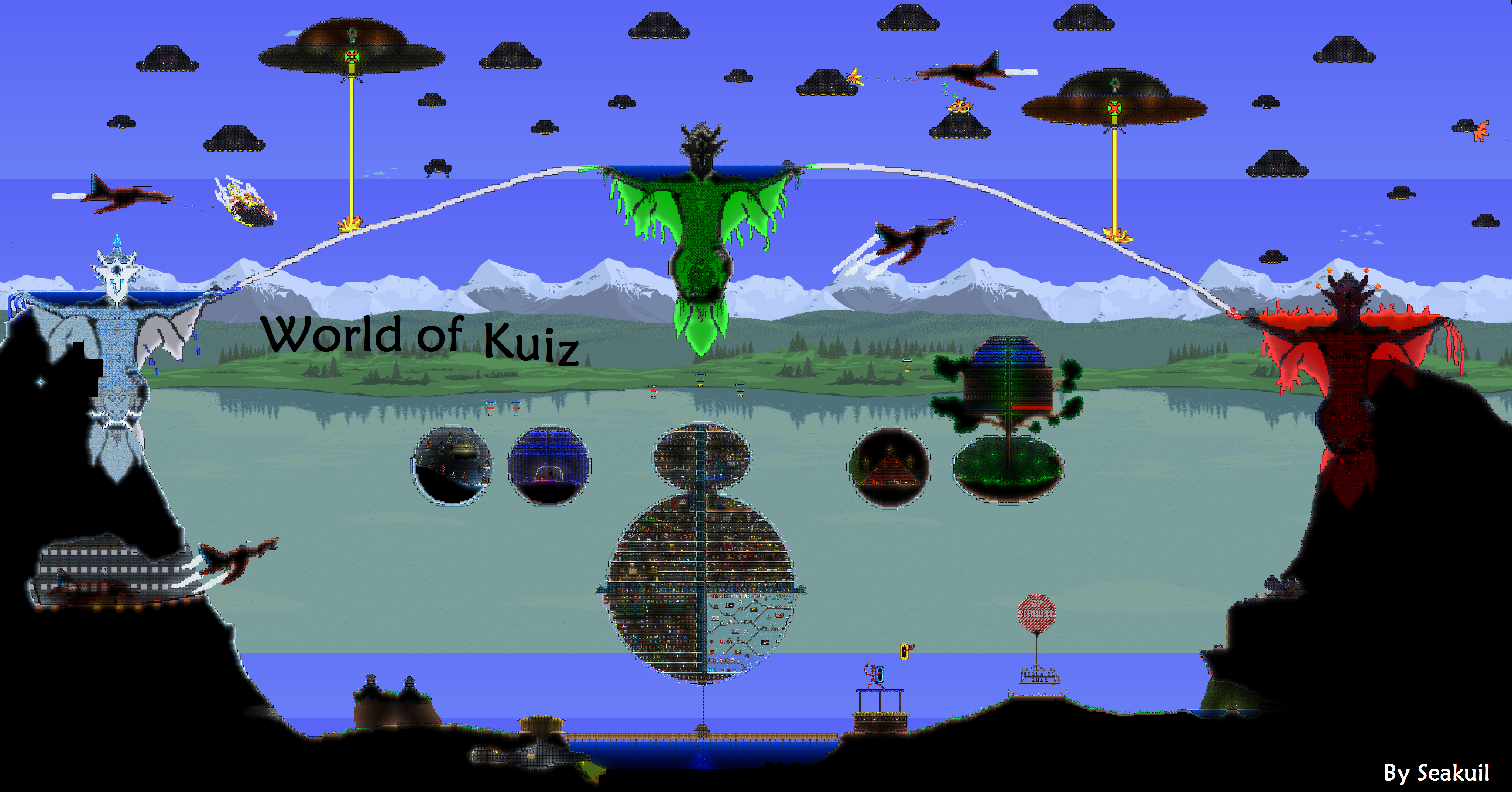 Overview world of kuiz maps projects terraria curseforge terraria curseforge gumiabroncs Image collections