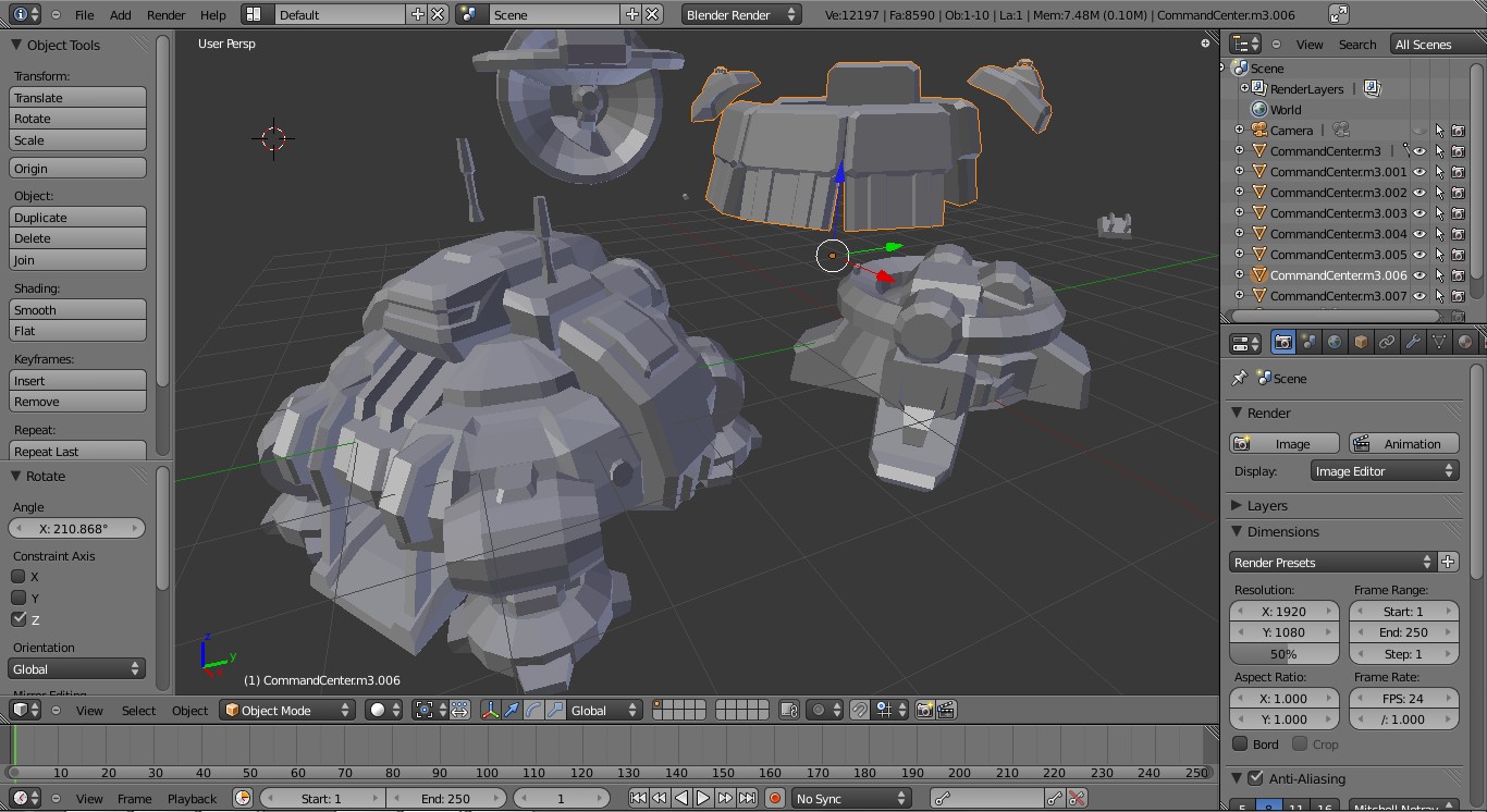 Overview - Blender  m3 Plugin - Assets - Projects - SC2Mapster
