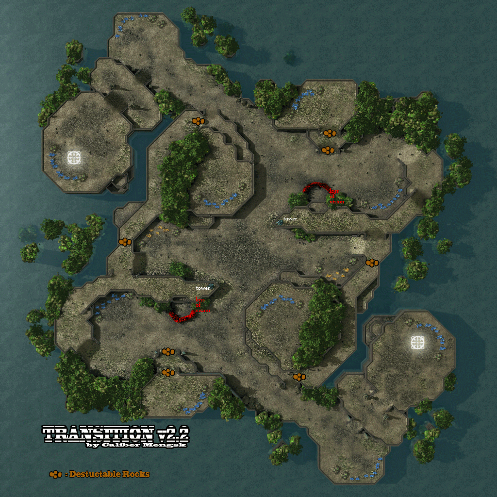 Overview - Transition Alt - Maps - Projects - SC2Mapster
