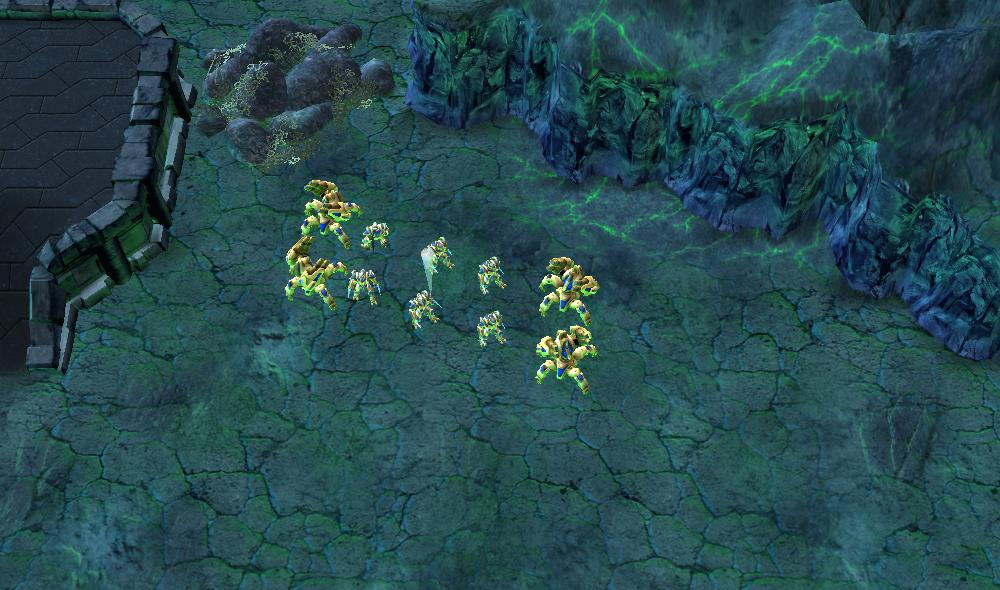 Overview - Starcraft 1 Protoss Mission #1: First Strike - Maps