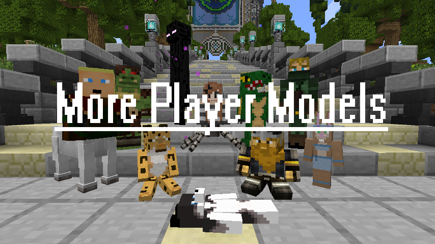 Files More Player Models Mods Projects Minecraft CurseForge - Skins fur minecraft 1 8 9