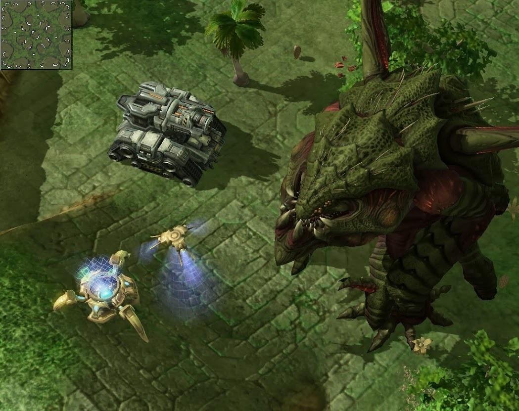 Скачать Карты для Starcraft 2