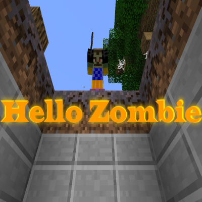 Overview hello zombie worlds projects minecraft - Zombie style minecraft ...