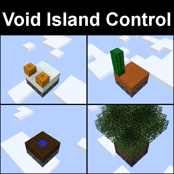 Overview Void Island Control Mods Projects Minecraft CurseForge - Minecraft server erstellen life in the woods