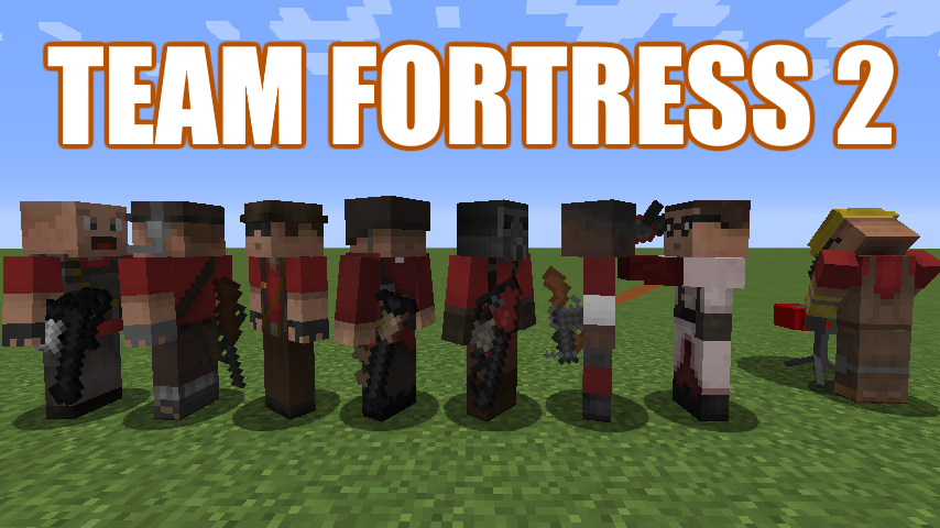 Overview - TF2 stuff mod - Mods - Projects - Minecraft