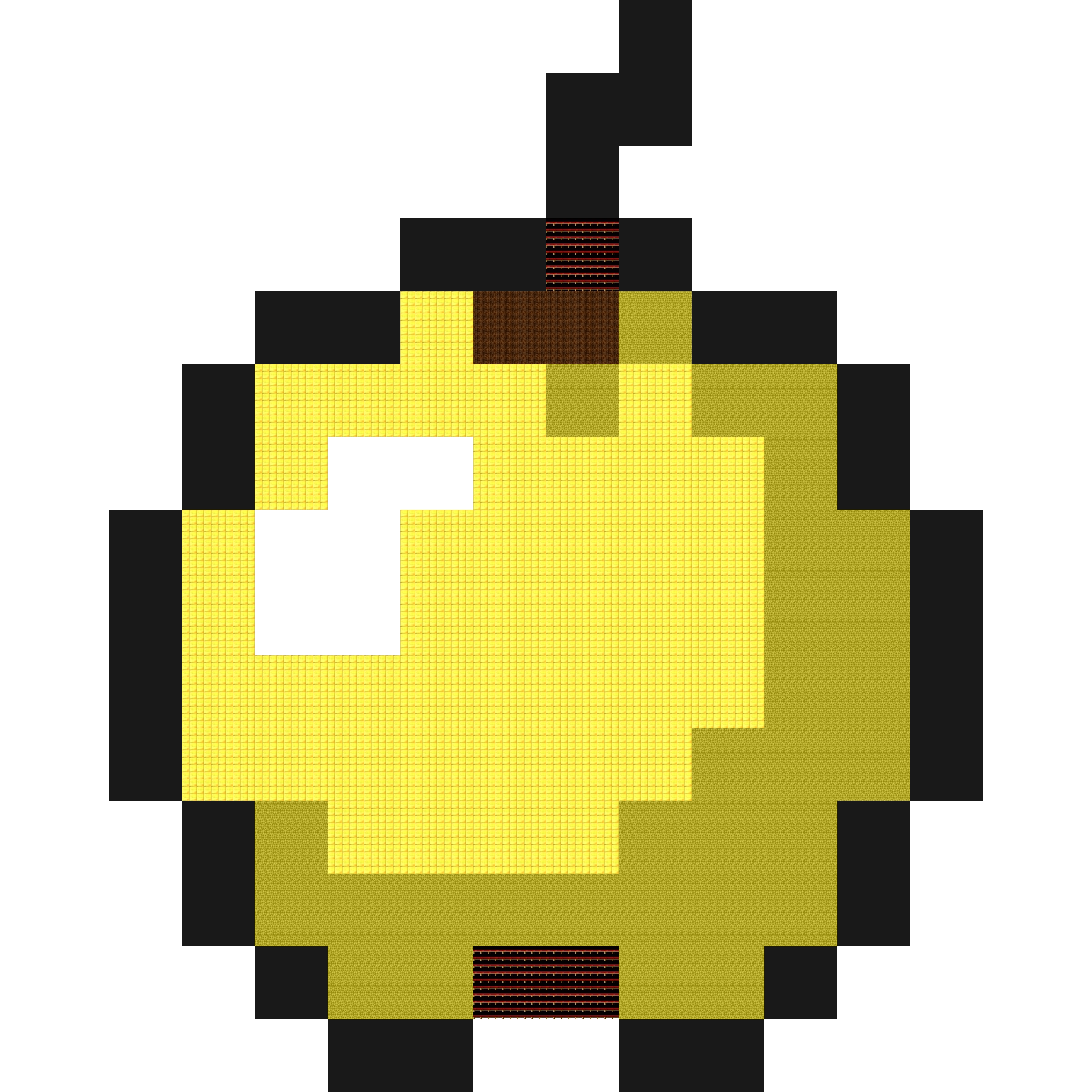 Как сделать золотое яблоко