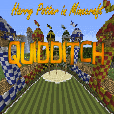 Overview Harry Potter In Minecraft Quidditch Worlds Projects