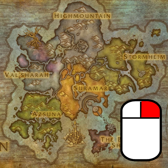 Legion World Map.Overview Legion Map Zoomer Addons Projects Wow Curseforge