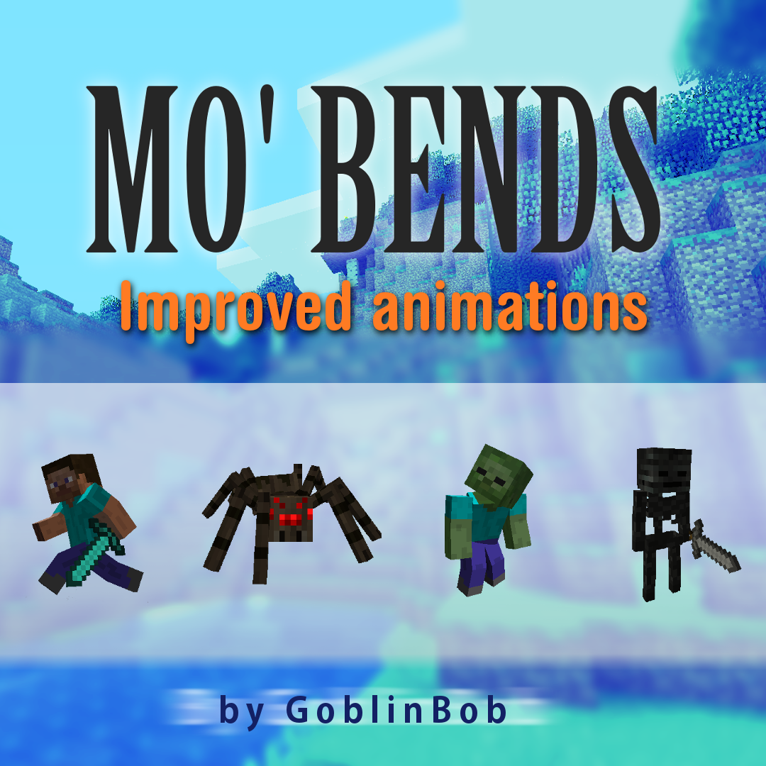 Overview Mo Bends Mods Projects Minecraft CurseForge - Skin para minecraft 1 8 9 no premium