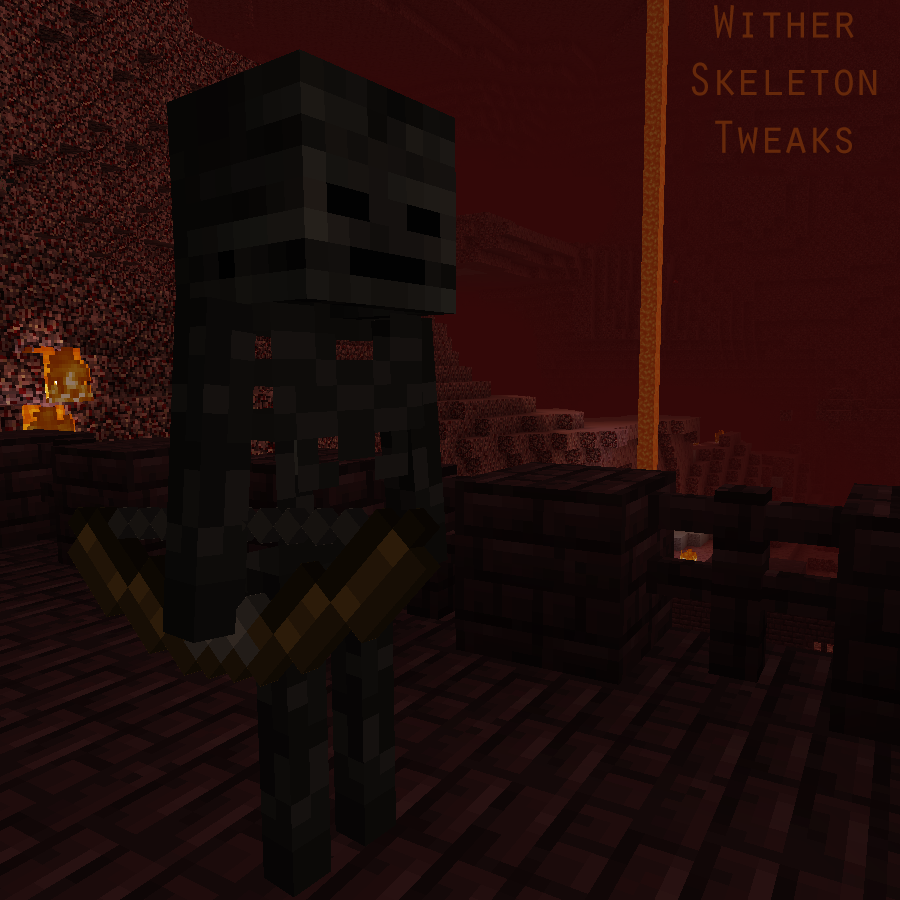 Overview Wither Skeleton Tweaks Mods Projects Minecraft