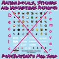 Nation Decals, Stickers and Inscriptions Remover
