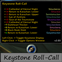 Keystone Roll-Call