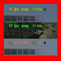 Hawg's Fps - Ping Colors Mod