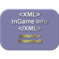 InGame Info XML Addon - Thaumcraft