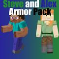 Steve and Alex Armor Pack