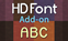 Lithos HD Font Add-On (1.7 — 1.12)