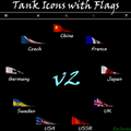 [1.0.0.1] 3D Tank Icons with Flags